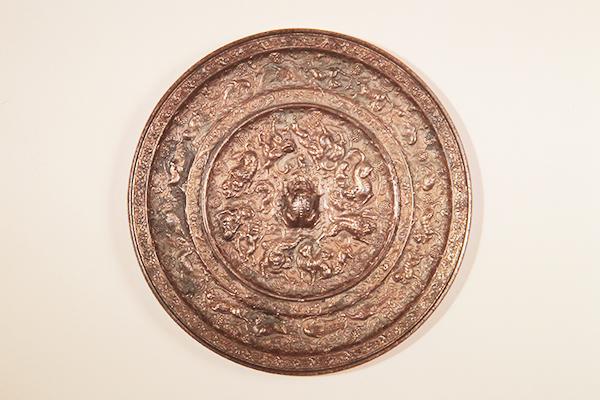 国宝『海獣葡萄鏡』