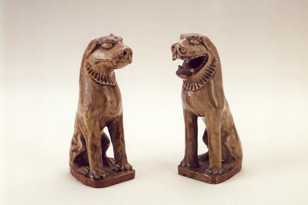 重要文化財 古瀬戸の狛犬